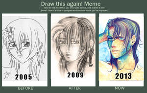 Draw this again! Meme! by Bisho-s