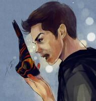 Teen Wolf - Stiles Nogitsune by Bisho-s