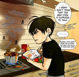 19 days - cooking by Bisho-s