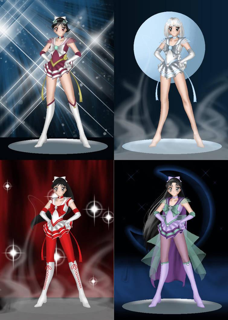 Inuyasha Sailors Bad Guys By Imacrazytrekkie On Deviantart