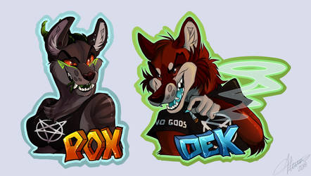 Devious Badges! by 666vlcina