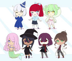 [100 TA]Reduced 33% Off: Fantasy Adopts (Open 1/7) by Hiyumi-Doodles