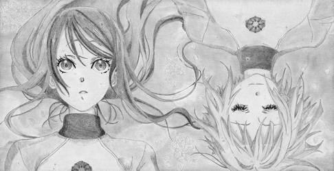 Futaba and Hikari by rediceRyan2