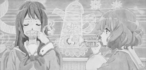 Reina and Kumiko by rediceRyan2