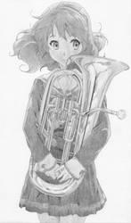 Kumiko Oumae by rediceRyan2