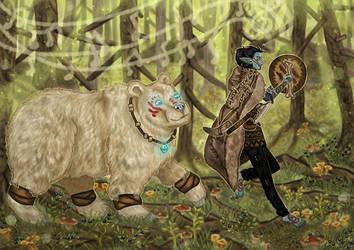 Bear Whisperer by ArcticNomad