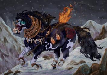 Shaman Warrior by ArcticNomad