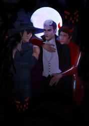 shiro lance and keith by z2727