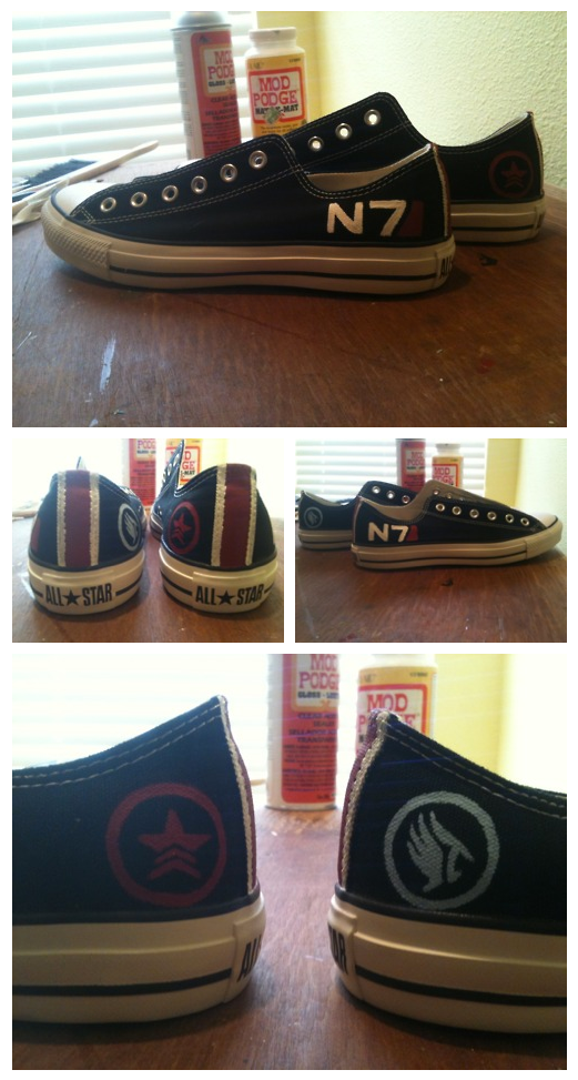 Commission: N7 Converse by EquilibriumArts