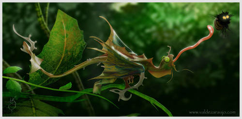 Brazilian rare animals by Vhalldezz