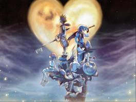 Kingdom Hearts by Xentrias