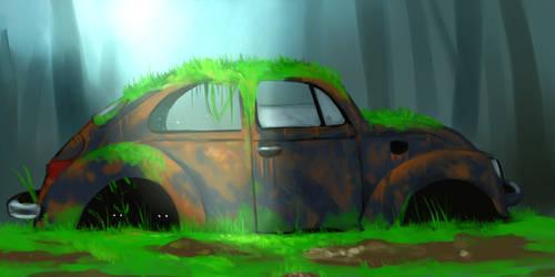 VolksWagen Beetle by lordmarticorena
