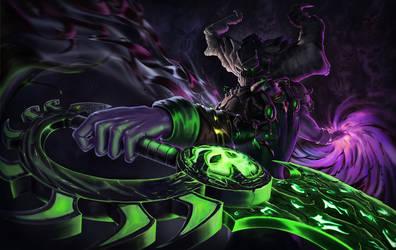 Shadow Priest - World of Warcraft Character 2/2 by AdrienGonzalez