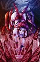 League of Legends Fan Art - Evelynn by WaterRing