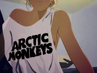 Arctic Monkeys Fan by DrSensey