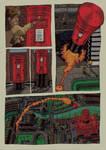 'The Postmen' Postbox by MattRIllustration
