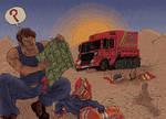 'Desert' The Postmen by MattRIllustration