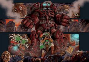 Robotic Massacre by MattRIllustration