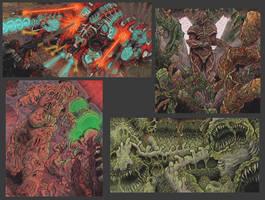 Alien Earth Artwork 2 by MattRIllustration