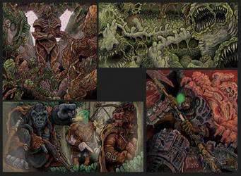 Portfolio 'Alien Earth 01' by MattRIllustration