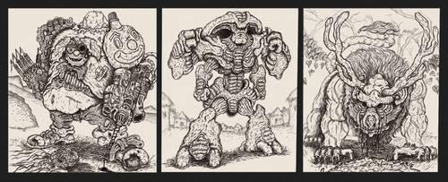 Portfolio 'Alien Earth 02' by MattRIllustration