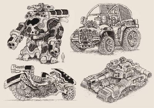 Portfolio 'Alien Earth 04' by MattRIllustration