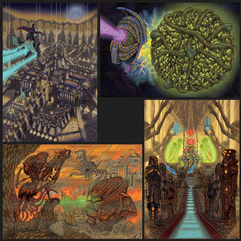 Portfolio 'Baroque 01' by MattRIllustration
