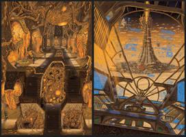 Portfolio 'Baroque 02' by MattRIllustration