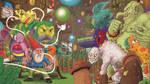 Portfolio 'Gnome Dash' by MattRIllustration