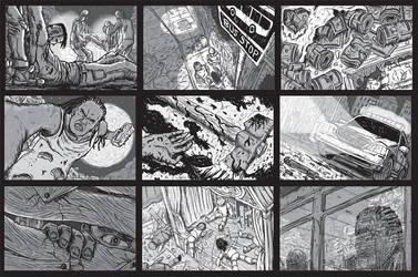 Portfolio 'Junk Yard Kids' by MattRIllustration