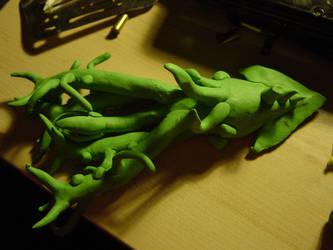 Random Clay Model Idea - 10-T1K3LZ 01 by toonstarfreak