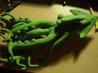 Random Clay Model Idea - 10-T1K3LZ 05 by toonstarfreak