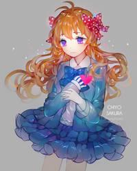 Chiyo doodle by Cymphonia