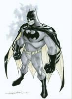 Stylized Batman by aaronlopresti
