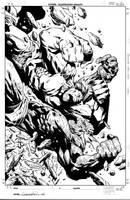 Hulk Destruction #4 Cover by aaronlopresti