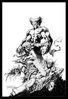 Excalibur #9 cover by aaronlopresti