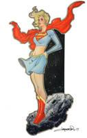 Supergirl 2017 by aaronlopresti