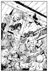 WW:Conan#4cvrink by aaronlopresti