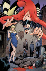 Plastic Man #1 Cover by aaronlopresti