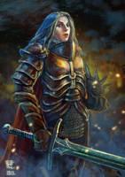 Warrior lady by yoggurt