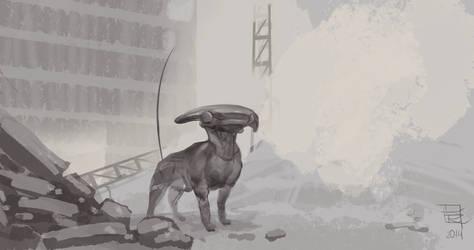 Radar-dog by yoggurt