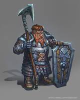 Dwarf With Axe by yoggurt