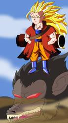 Goku ermitano by thockster