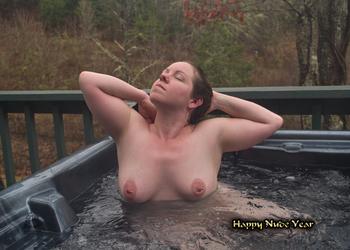 Lady-Skygge - Happy Nude Year 2 Card by skiesofchaos