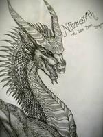 Nazzerith: The Last Dark Dragon by The-MuseDragon