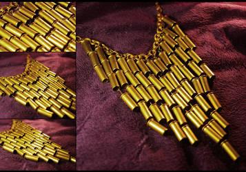 Cartridge Necklace by hrekkjavakaastarkort