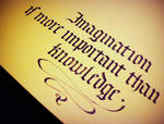 Imagination by Calligraphism