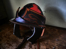 Scythian Helmet by sioastr-valdr