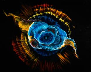Cats eye nebula by sioastr-valdr