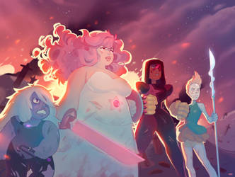 GEM WAR. by asieybarbie